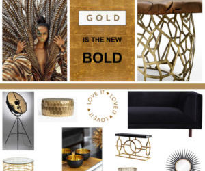 Tokkara Living: Gold is Undoubtedly the New Bold